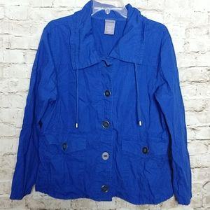 Laura Scott Jacket XL Blue
